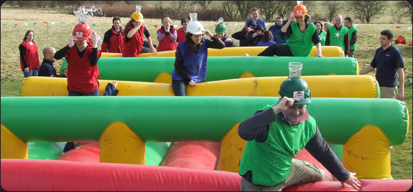 Hats On Its a Knockout Team Building Events