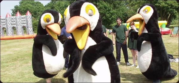 Penguin Pursuit Its a Knockout Team Building Events