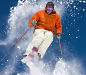 Skiing at Christmas