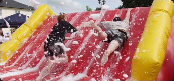 Slippery Slope Its a Knockout Team Building Events