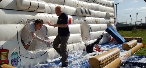 Super Suds Its a Knockout Team Building Events