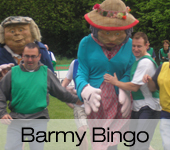 Barmy Bingo Its a Knockout Games