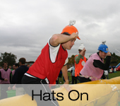 Hats On Its a Knockout Games